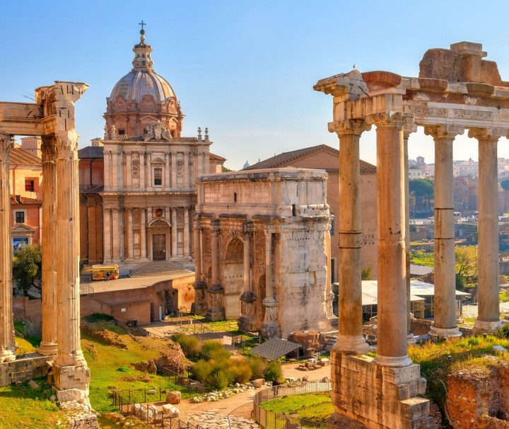 Anna's Tours of Italy - Small Group Tours of Italy - Rome - the Roman Forum
